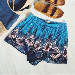 Hollister Drawstring Soft Shorts